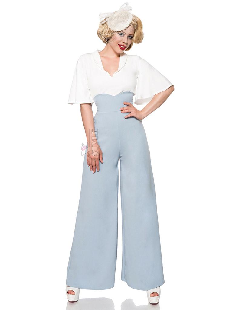 Широкие брюки в стиле Марлен, 11