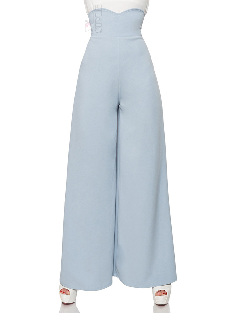 Широкие брюки в стиле Марлен, 3