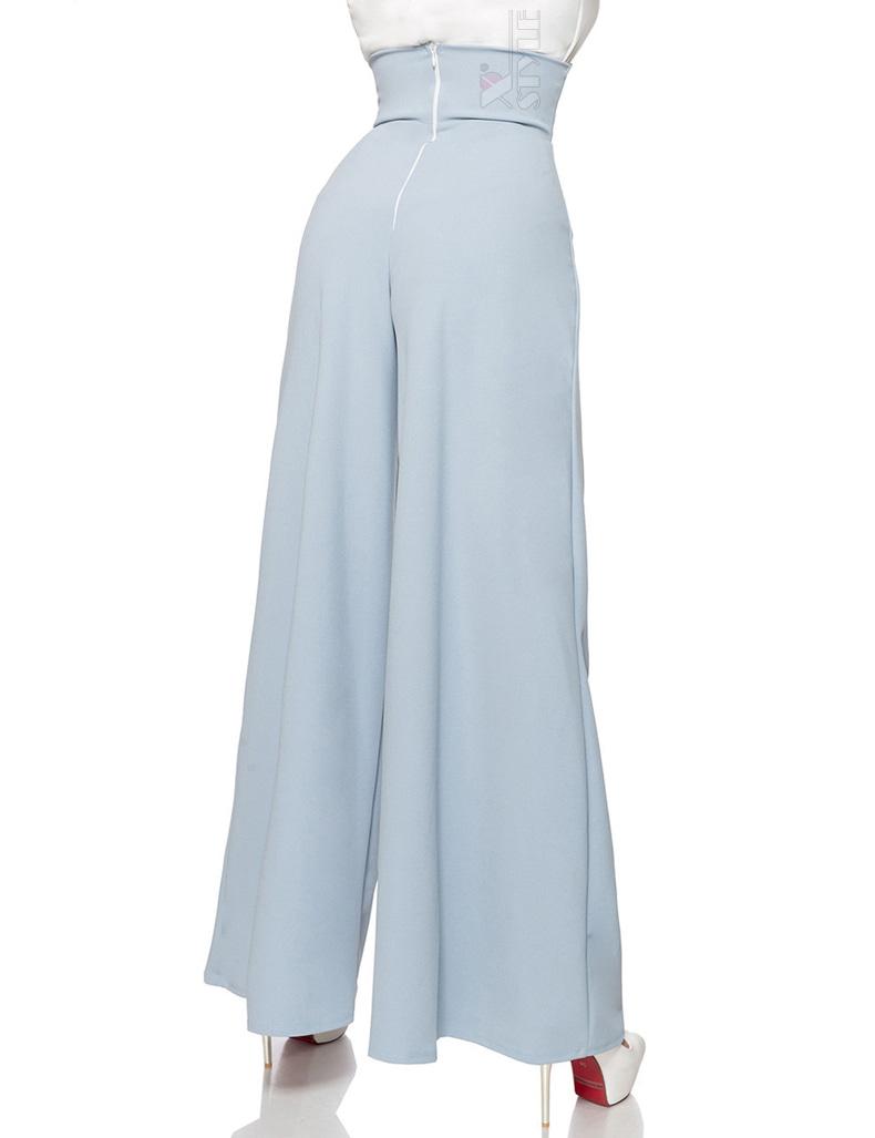 Широкие брюки в стиле Марлен, 7