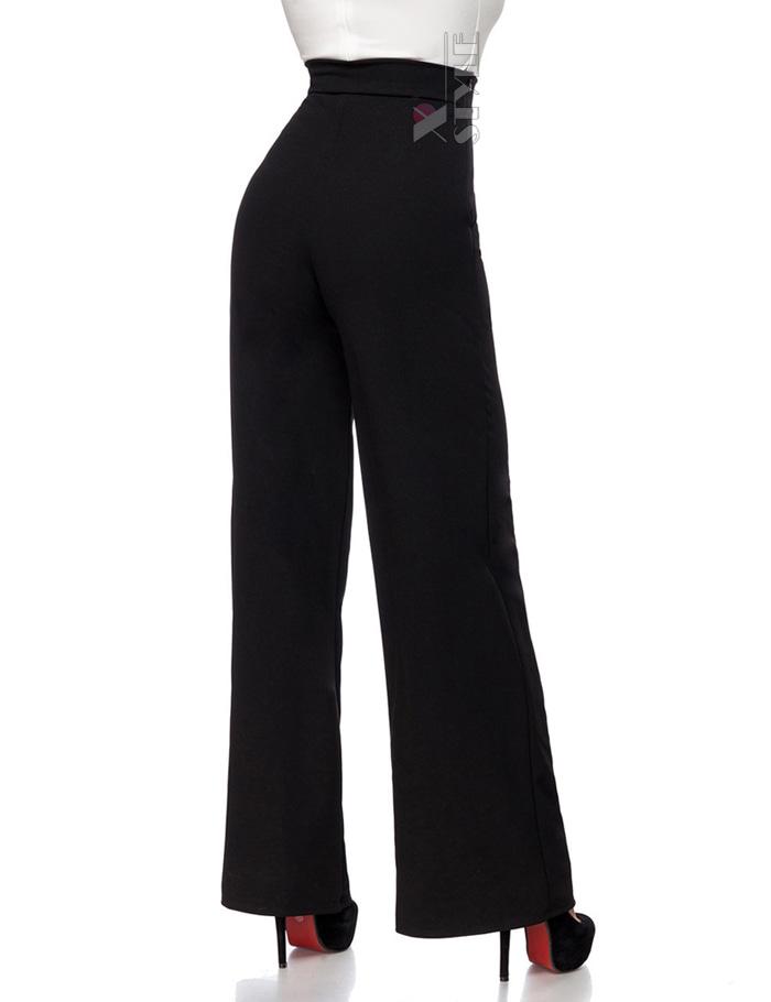 Широкие брюки с карманами и высоким поясом, 3