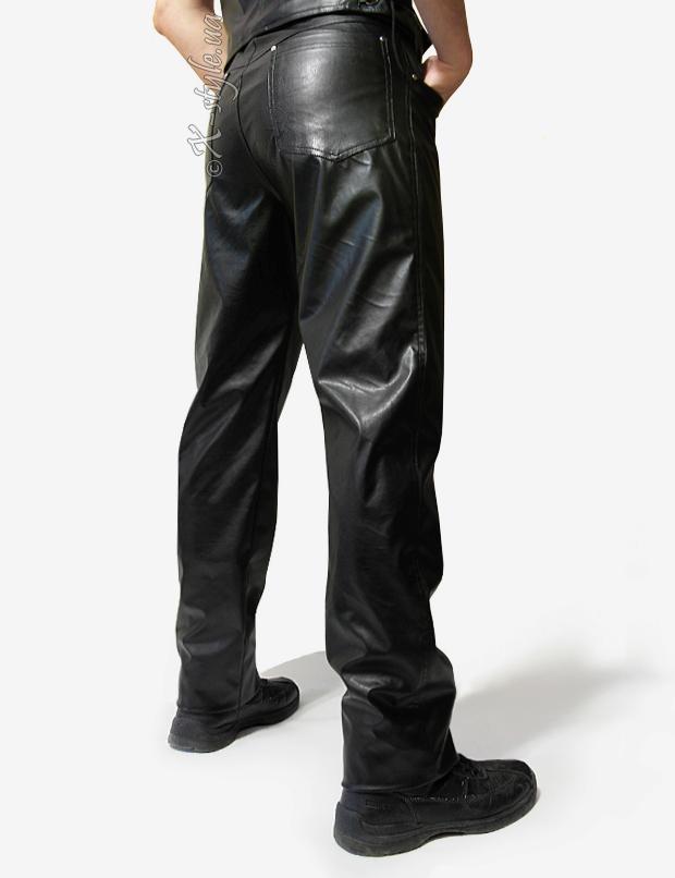 Мужские кожаные брюки, 3
