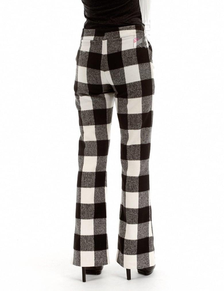 Теплые брюки-клеш, 3