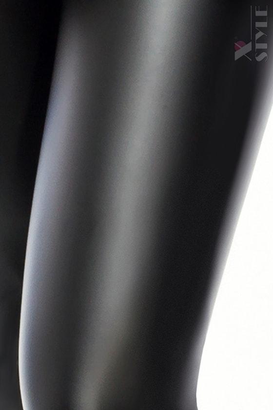 Черный кожаный кэтсьюит, 3