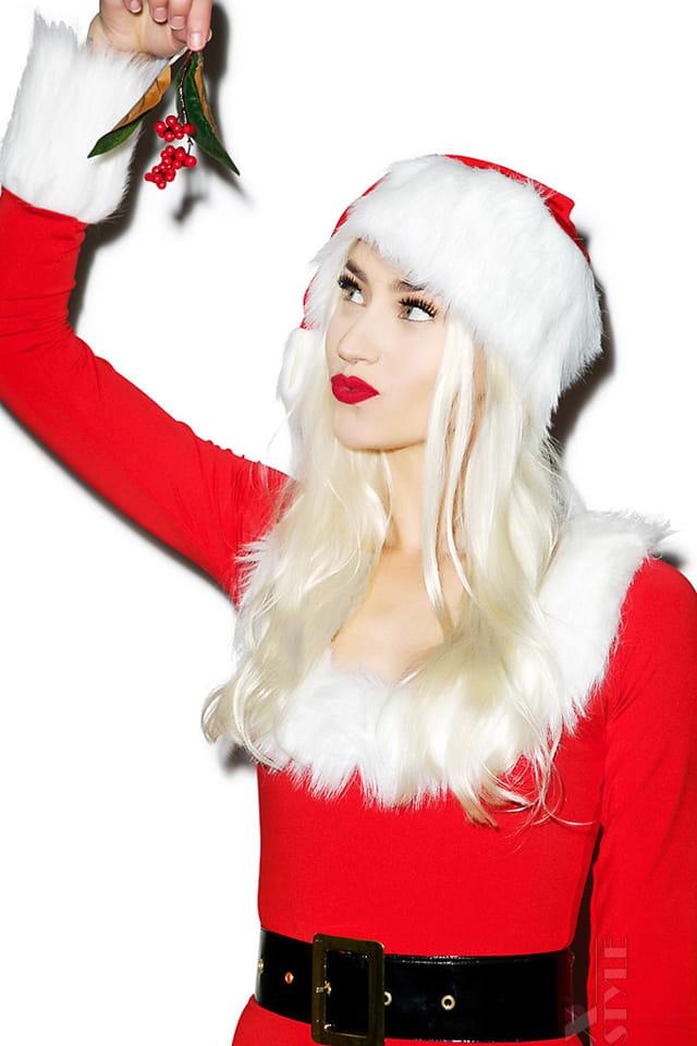 Новогодний костюм Мисс Санта DS6185, 5