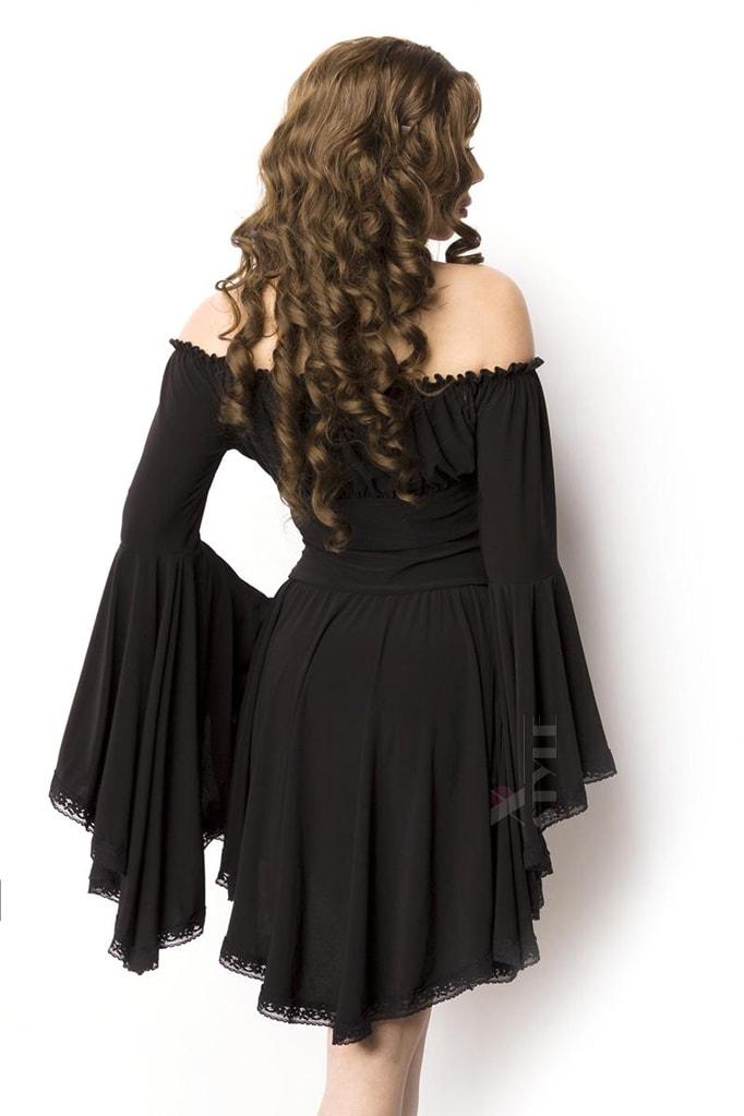 Платье-туника c широкими рукавами A5018, 3