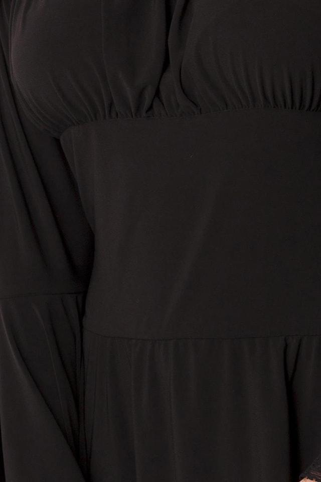 Платье-туника c широкими рукавами A5018, 5