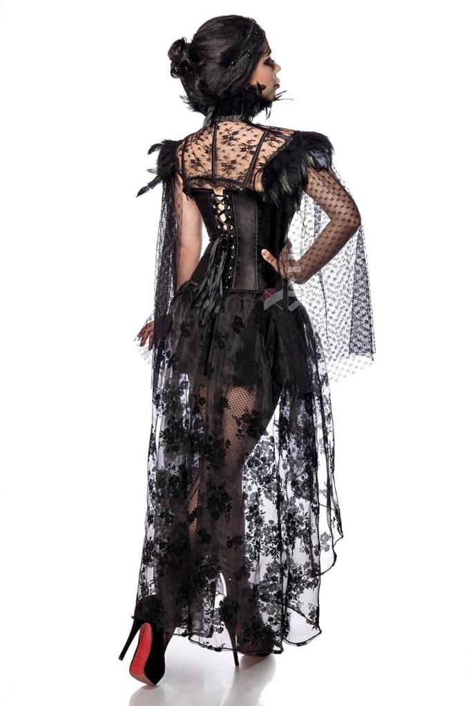Юбка со шлейфом Vampire Queen L7203, 5