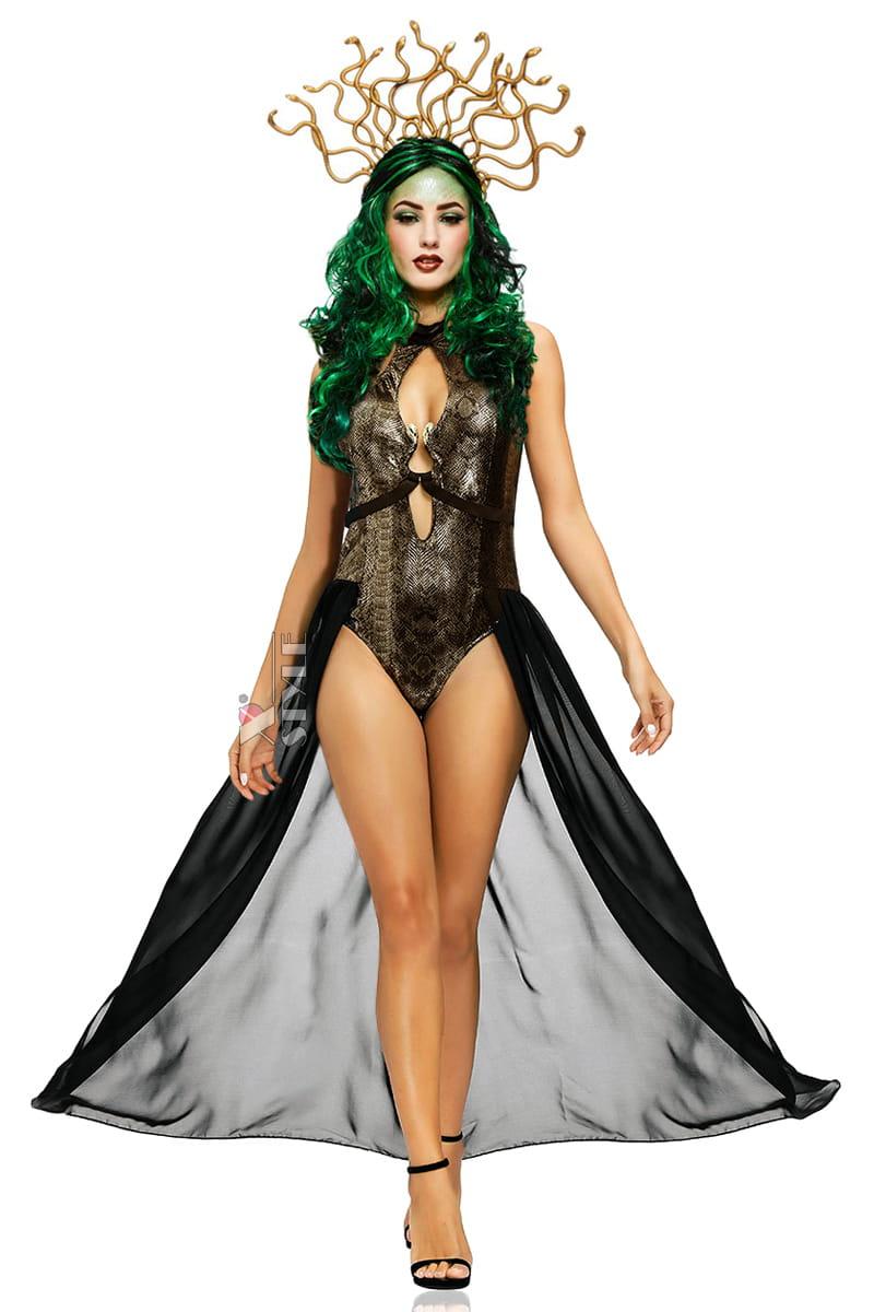 Карнавальный костюм Snake Medusa LS8099