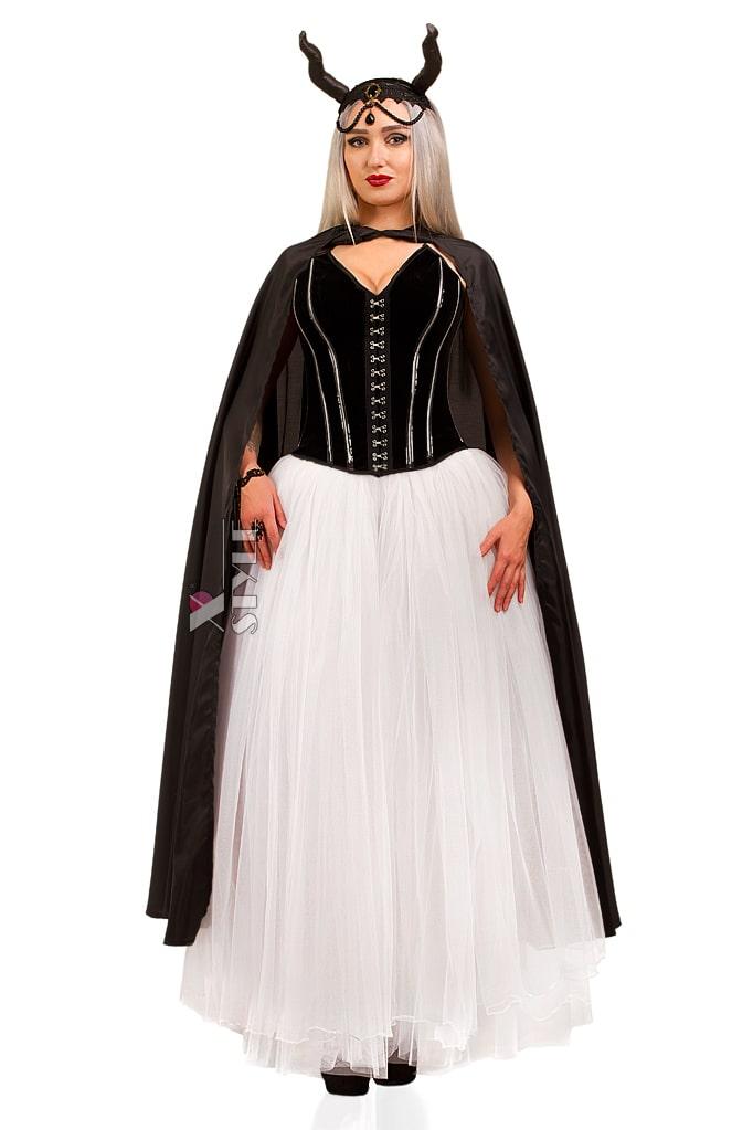Костюм Demoniq (корсет, юбка, мантия, браслет, головной убор), 3