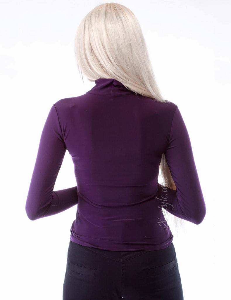 Водолазка женская со съемной брошью X-Style, 3