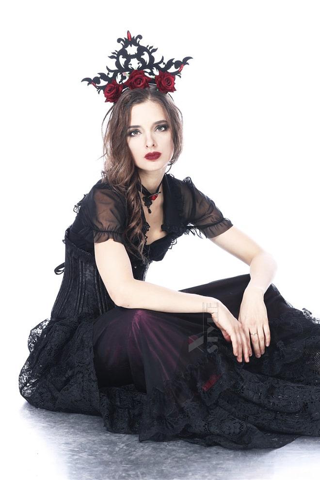 Корона с розами CC4225, 7