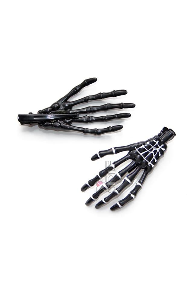 Заколки Skeleton (пара) CC1130, 3
