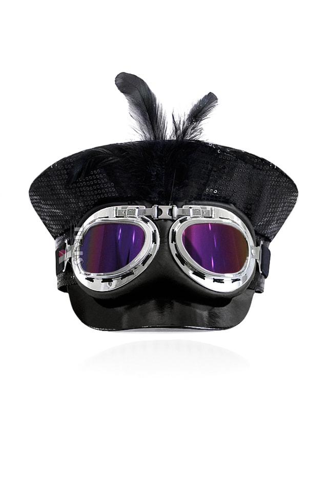 Фуражка с очками в стиле Burning Man, 3