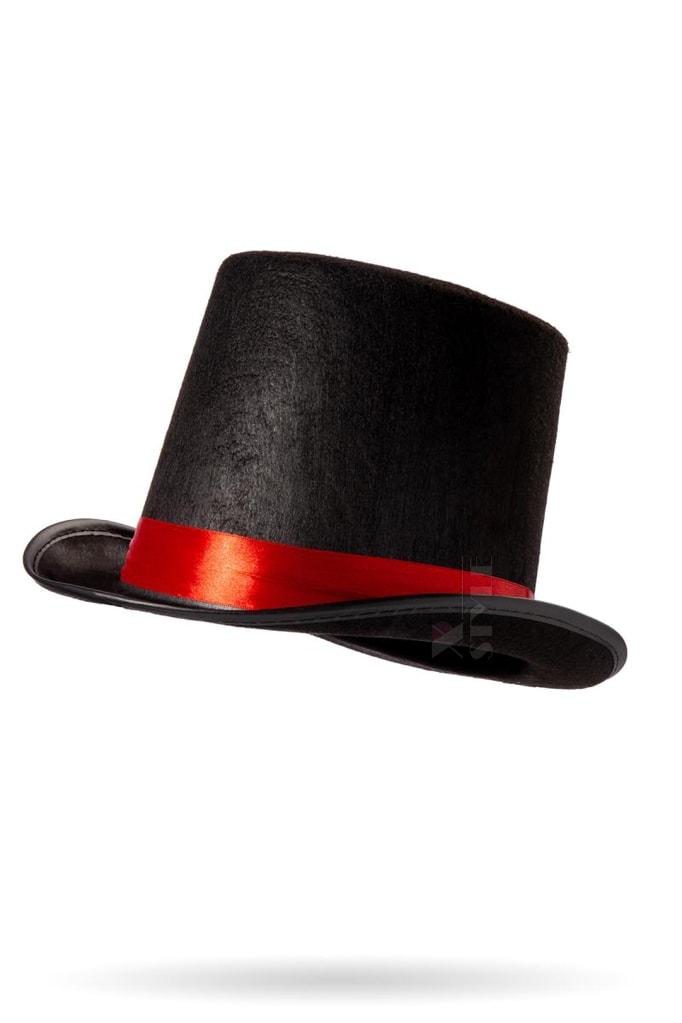 Шляпа-цилиндр женская CC1038