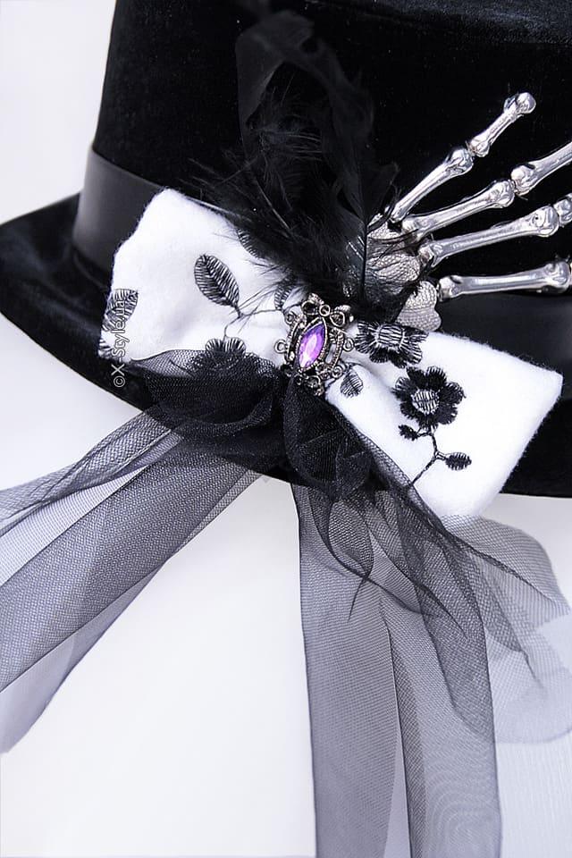 """Женская шляпа """"Рука скелета"""" XA143, 5"""