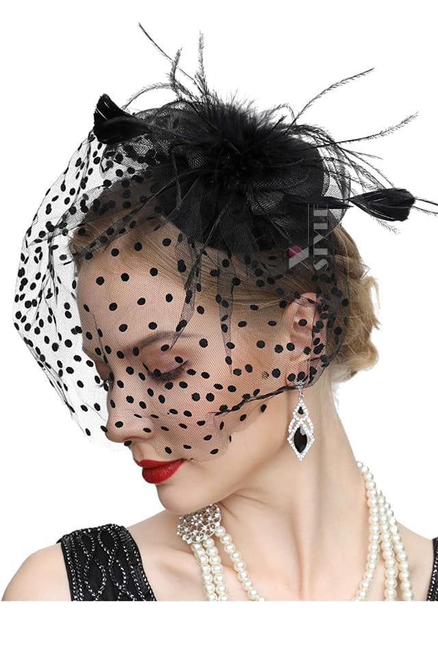 Вечерняя шляпка с вуалью Artistic, 5