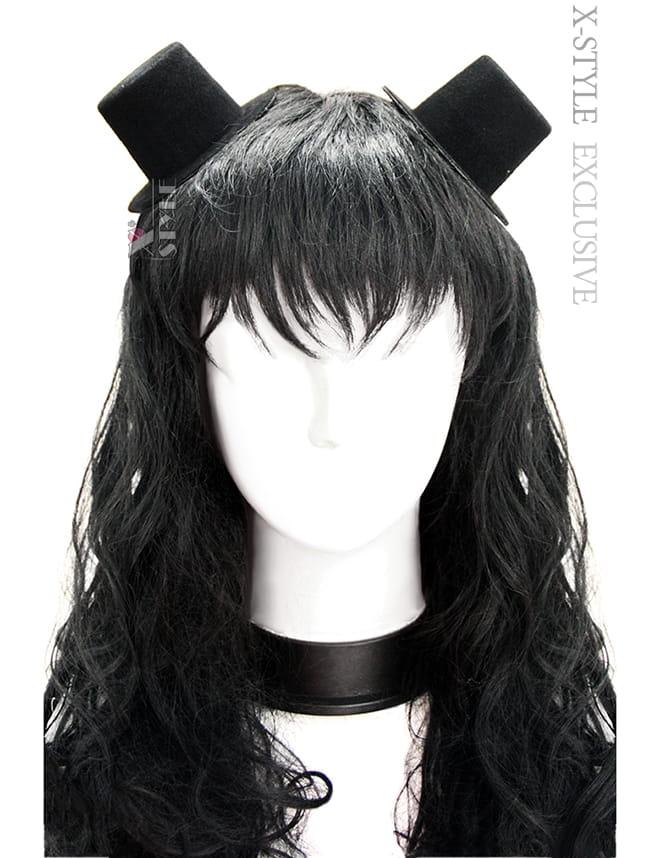 Черные шляпки (2 шт)