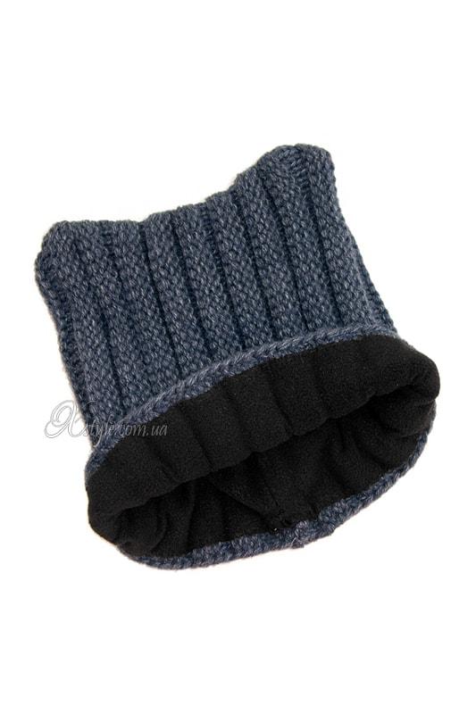 Зимняя шапка с ушками кошки, 3