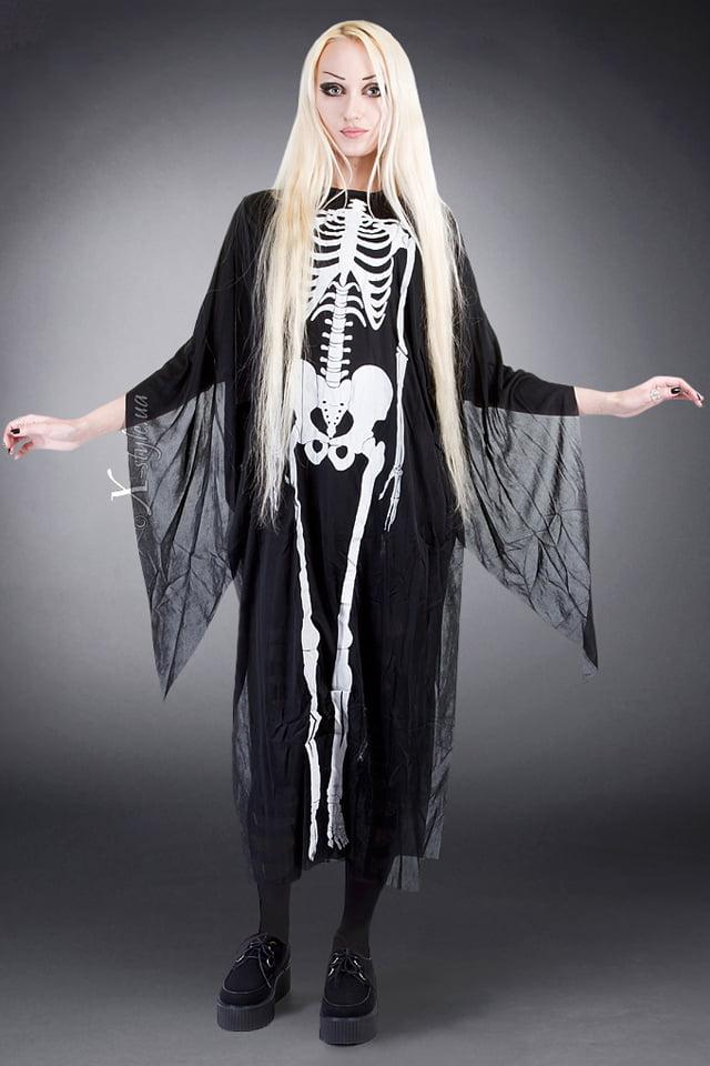 Накидка Скелет, 3