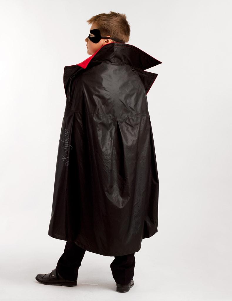 Карнавальный плащ вампира для мальчика X205, 3