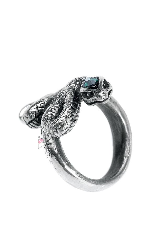 Оловянное кольцо до средины пальца AG228, 7