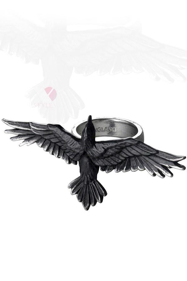 Оловянное черное кольцо Black Consort, 5