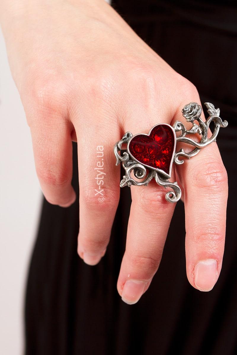 Оловянное кольцо с камнями Swarovski AG180, 3