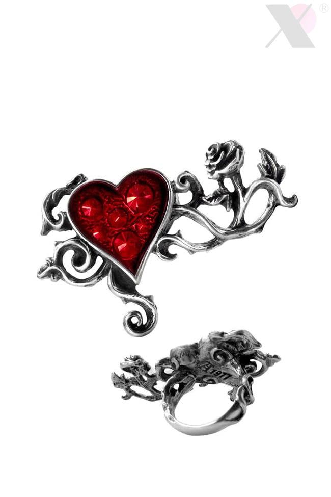 Оловянное кольцо с камнями Swarovski AG180, 7