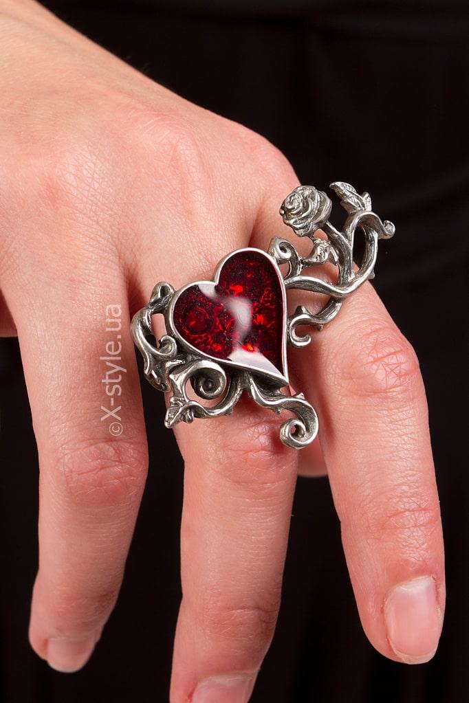 Оловянное кольцо с камнями Swarovski AG180, 5