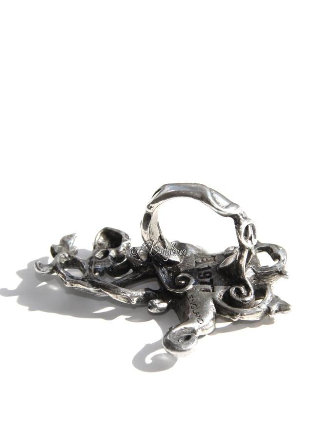 Кольцо на 2 пальца AGR180, 7
