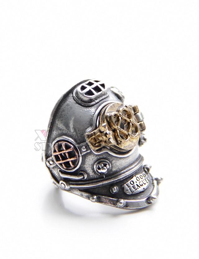 Массивное кольцо в стиле Хай-тек (ручная работа), 3