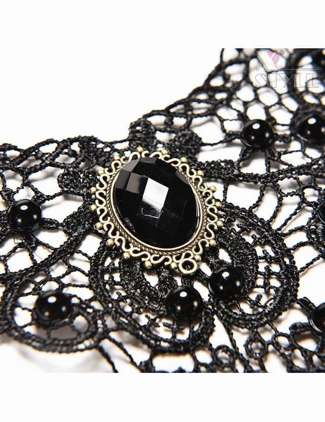 Кружевное ожерелье-чокер A6153, 5