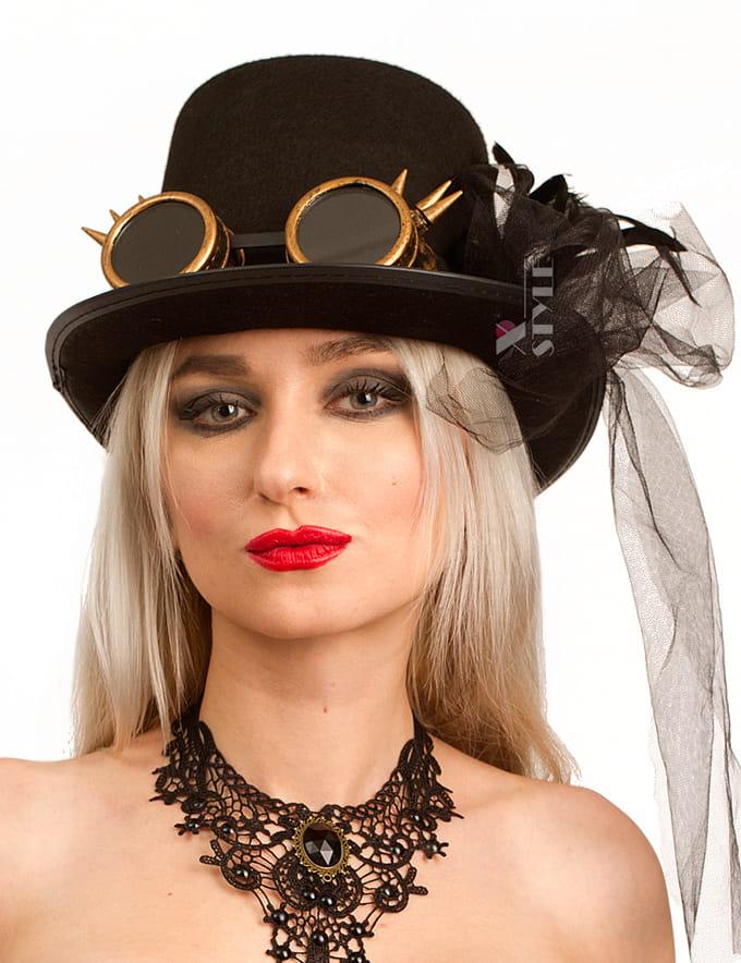 Женский костюм Steampunk Gangster, 13
