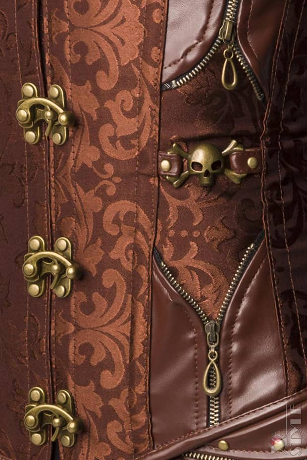 Корсет Steampunk Brocade A1156, 5