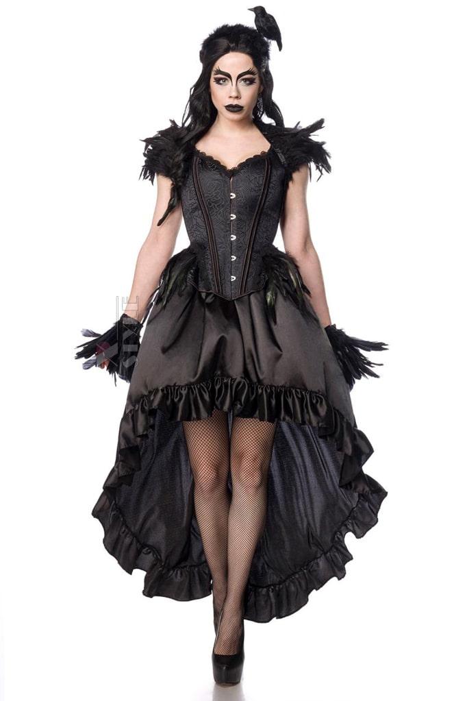 Корсет Gothic Crow Lady, 11