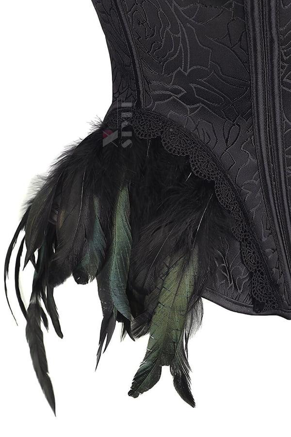 Корсет Gothic Crow Lady, 5