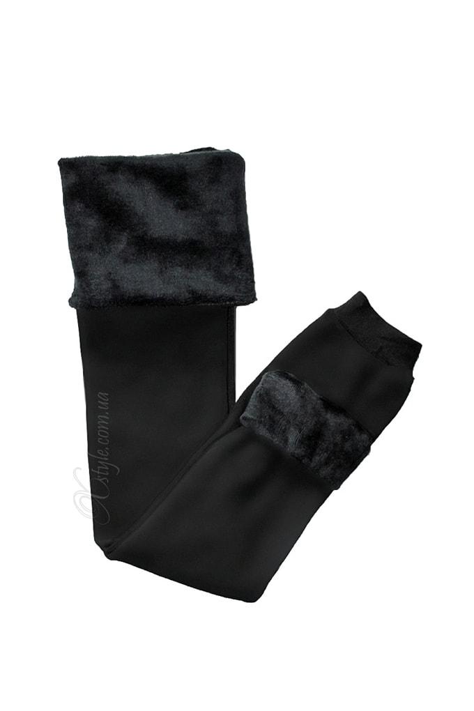 Зимові теплі лосини з хутром XTC153 купити недорого в Києві f966817c5b737