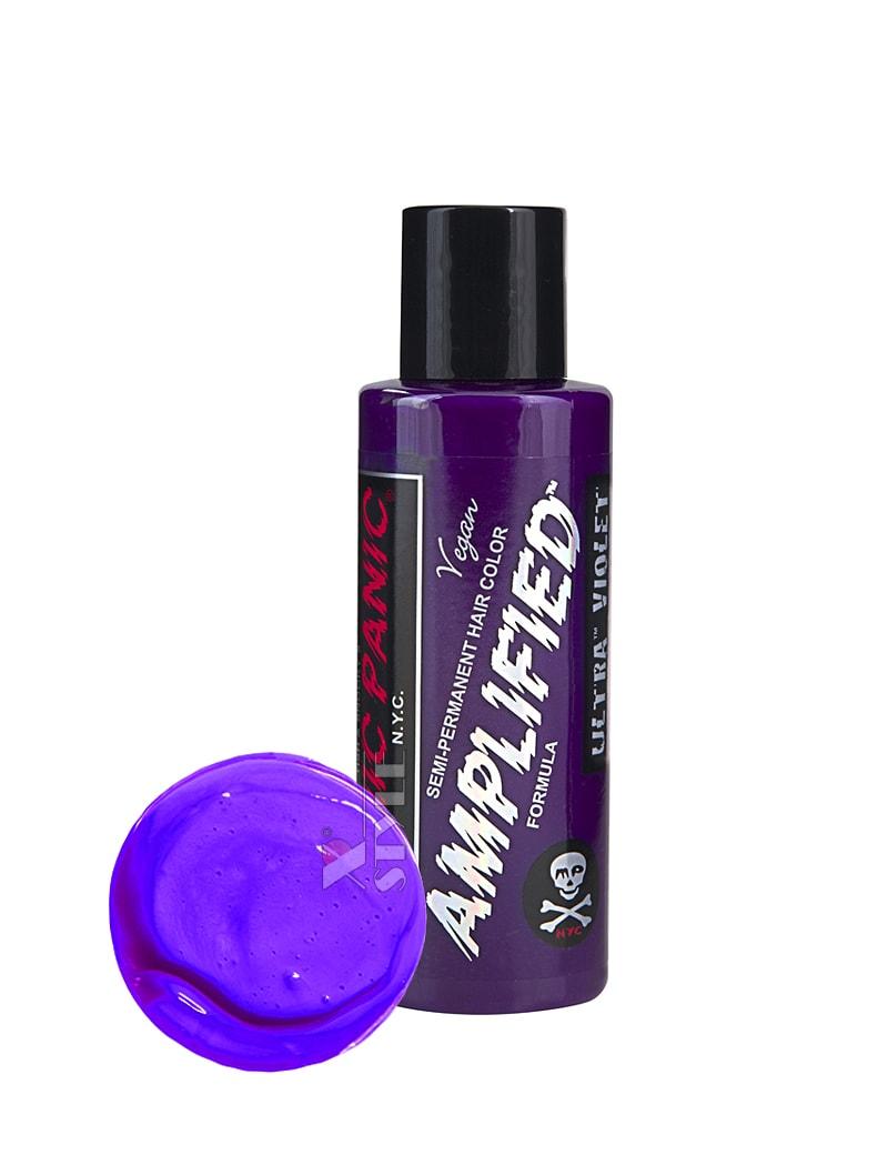 Фиолетовая усиленная краска для волос Ultra Violet, 5