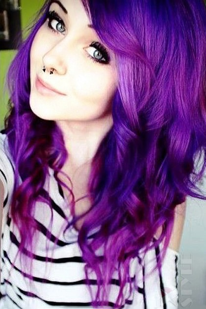 Краска для волос Purple Haze, 15