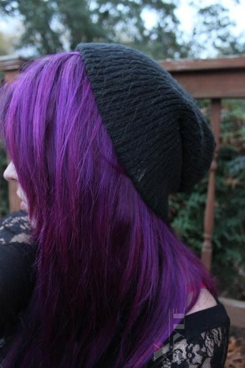 Краска для волос Purple Haze, 3