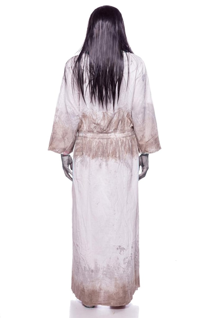 Карнавальный костюм Creepy Girl (платье, парик), 3