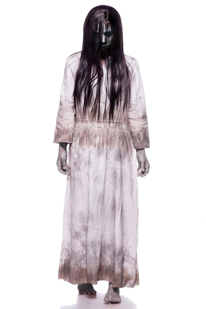 Карнавальный костюм Creepy Girl (платье, парик), 5