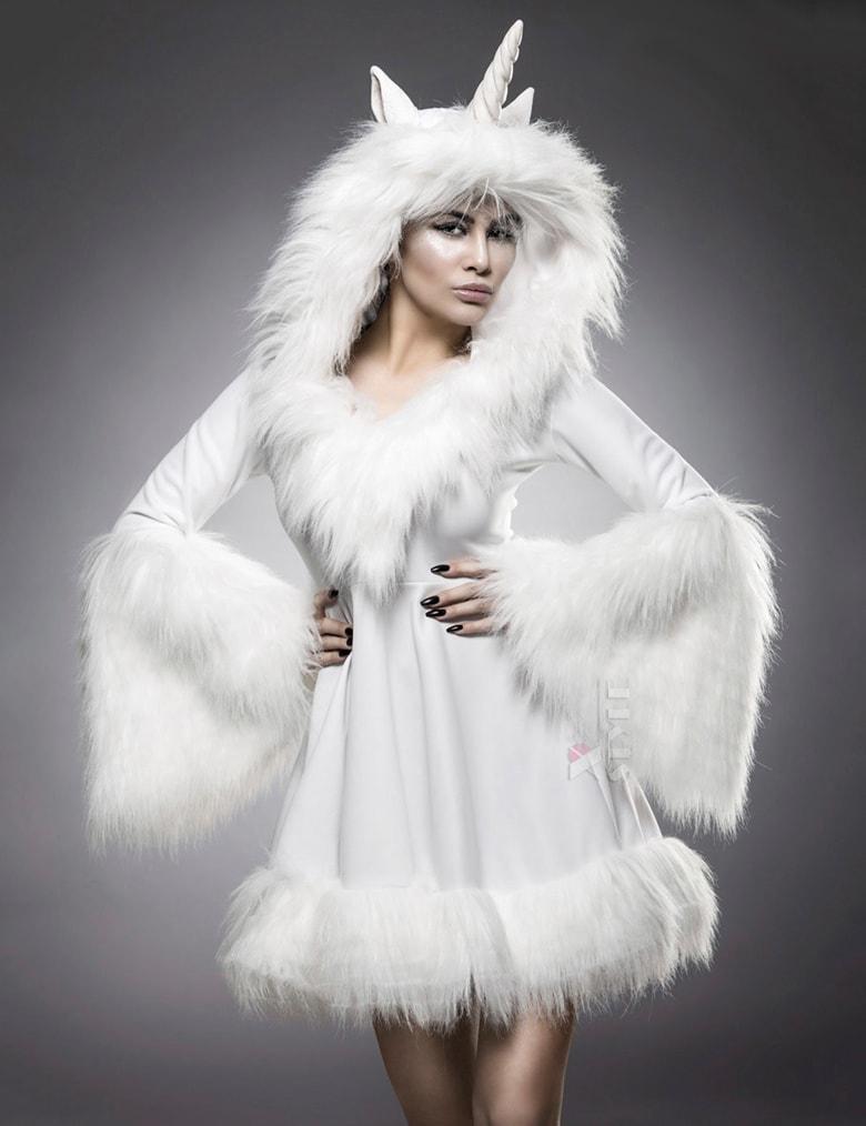 Карнавальный женский костюм Единорог M8023, 11