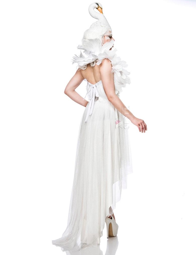 Костюм белого лебедя Mask Paradise, 9