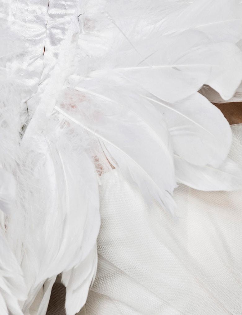 Костюм белого лебедя Mask Paradise, 5