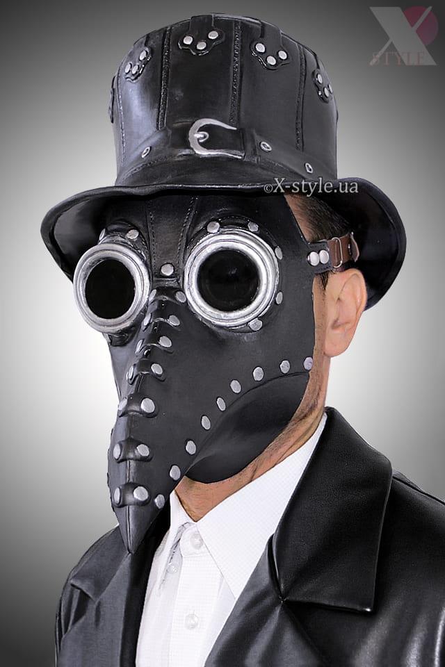 Шляпа Чумного доктора Steampunk XA501145, 5