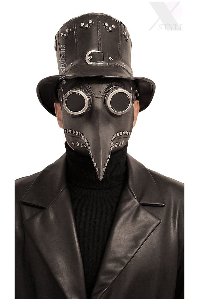 Маска Чумного доктора Steampunk XA073, 5