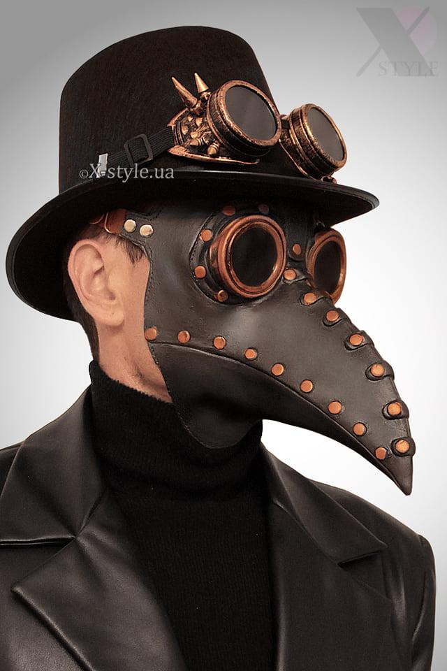 Маска Чумной доктор Steampunk X1074, 5