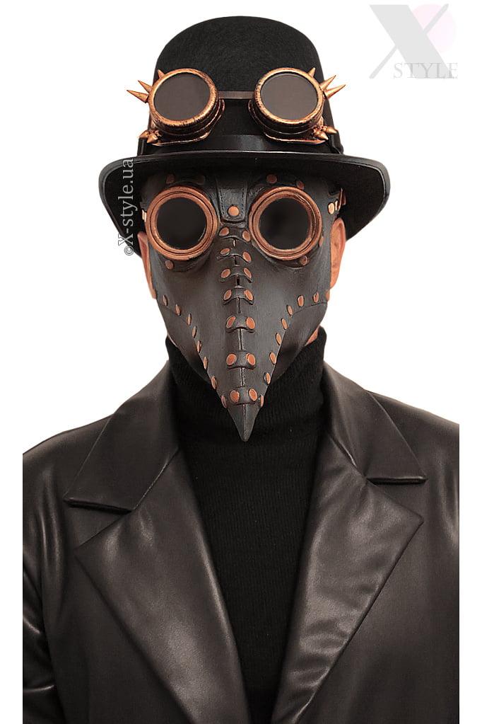Маска Чумной доктор Steampunk X1074, 3