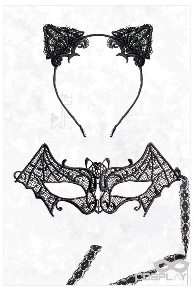 Карнавальная маска и обруч с ушками CC2001, 3